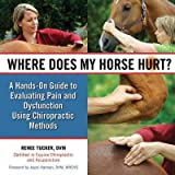 img - for Where Does My Horse Hurt?( A Hands-On Guide to Evaluating Pain and Dysfunction Using Chiropractic Methods)[WHERE DOES MY HORSE HURT][Spiral] book / textbook / text book