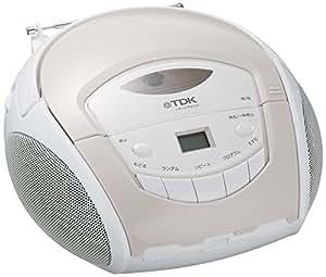 TDK LoR ポータブルCDラジオ ホワイト SP-CD8211WH