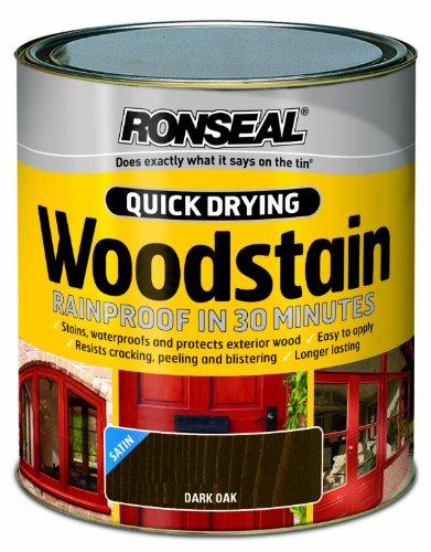 ronseal-qdwsdo25l-25l-woodstain-quick-dry-satin-dark-oak