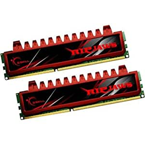 G.Skill Ripjaws Series F3-12800CL9D-4GBRL 4GB (2 x 2GB) DDR3 1600MHz (PC3 12800) 240-Pin Desktop Memory Module