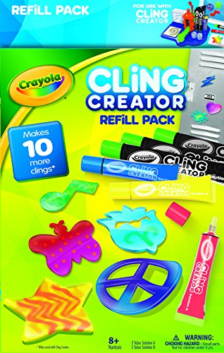 Crayola Cling Creator Refill Pack - 1