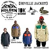 15-16 HOLDEN ウェア ホールデン スノーボードウェア SEVILLE JACKET セヴィル ジャケット メンズ (Olive_Electric_Indigo, S)