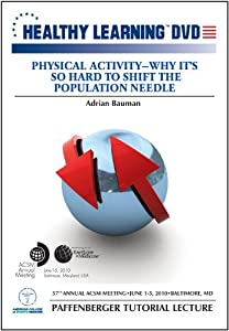 Physical ActivityWhy Its So Difficult to Shift the Population Needle