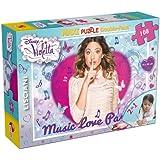 Liscianigiochi 43606 - Violetta, Puzzle Double-Face Maxi 108
