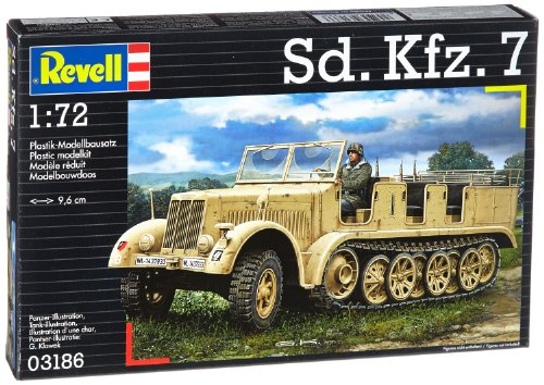 Revell of Germany SD.KFZ 7 Plastic Model Kit