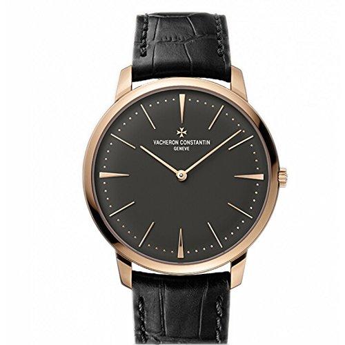 все цены на Vacheron Constantin Patrimony Grey Dial 18k Pink Gold Manual Mens Watch 81180000R-9162 онлайн
