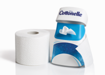 The Cottonelle Care Routine combines toilet paper and flushable wipes to leave you feeling cleaner and fresher.