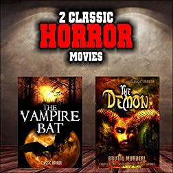 classic Horror Movie Double Bill: The Vampire Bat and The Demon