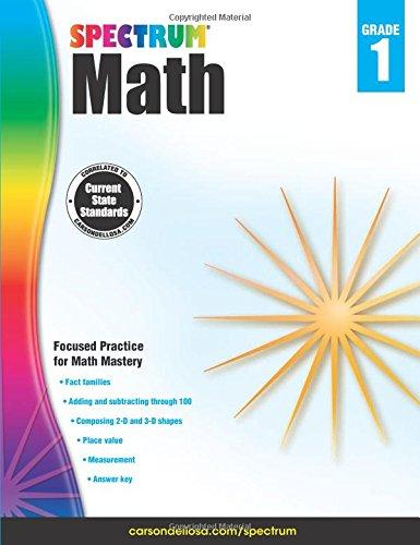 Spectrum Math Workbook, Grade 1