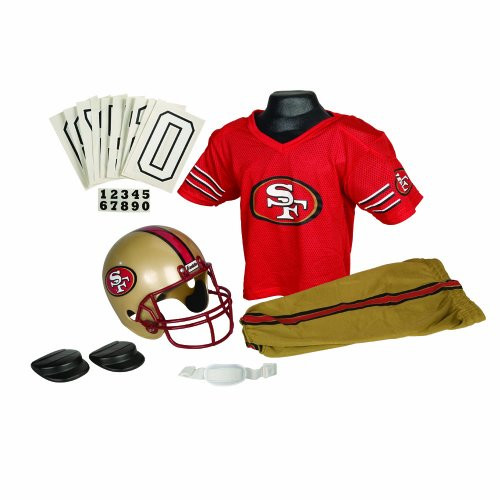 NFL San Francisco 49ers Deluxe Youth Uniform Set, Medium at Amazon.com