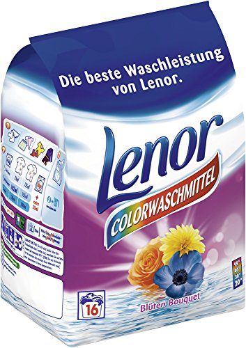 Lenor Color washing powder flowers Bouquet 6 x 16 WL (6 x 1,04kg)