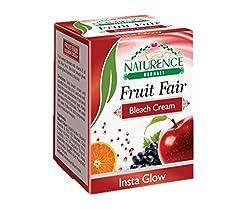 Naturence Fruit Fair Bleach Cream, 200 gm