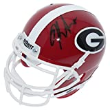Kirby Smart Georgia Bulldogs Autographed Schutt XP Mini Helmet - Beckett Authentic