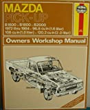 img - for Mazda Pick-up Owner's Workshop Manual book / textbook / text book