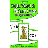Sight Word & Picture Cards (Flash Cards) ~ Lightning Bug Learning