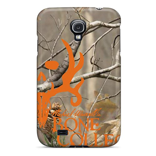 Best Hard Phone Case For Samsung Galaxy S4 Lob6142fVOR Unique Design Fashion Bone Collector Blaze Pattern