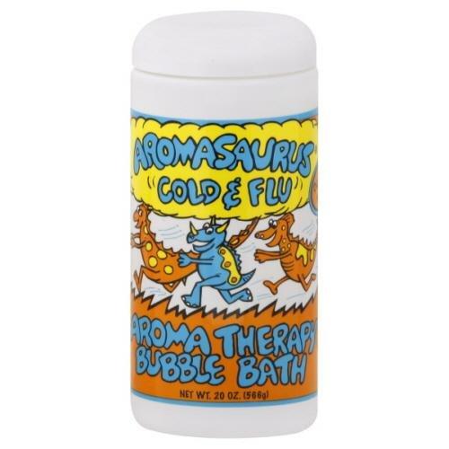Abra Therapeutics Aromasaurus Therapeutic Cold And Flu Bubble Bath -- 20 Fl Oz