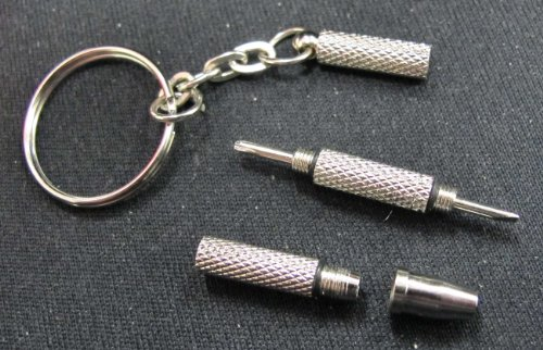 Eyeglass Keychain Mini Screwdriver Precision