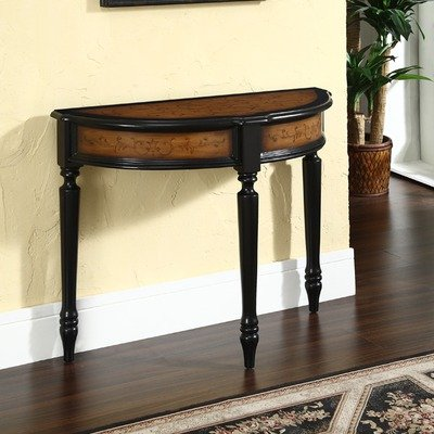 Cheap Stratford Console Table in Black and Brown (B006A2LUH4)