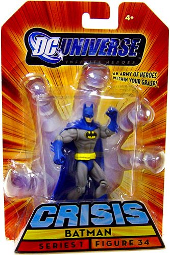 Buy Low Price Mattel DC Universe Infinite Heroes Crisis Series 1 Action Figure #34 Batman (B001UCRDYS)