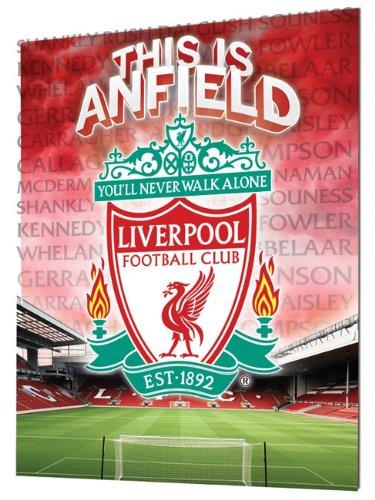 Liverpool Crest (3d) – Lenticular Poster – 47cm x 67cm