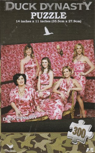 Duck Dynasty Pink 300 Piece Puzzle