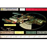 Star Trek - Poster - Enterprise, 1701 D Cut Away + Ü-Poster