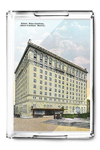 montreal-quebec-ritz-carlton-hotel-exterior-acrylic-serving-tray