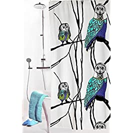 Vallila Interior Shower Curtain - Hu-Huu (Owls) - 71