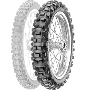 Pirelli Scorpion XCMS Tire - Rear - 110/100-18 , Position: Rear, Rim Size: 18, Tire Application: Intermediate, Tire Size: 110/100-18, Tire Type: Offroad, Load Rating: Not Available, Speed Rating: Not Available 1767700