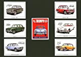 Triumph, Dolomite Sprint, Classic Car, Mounted cards