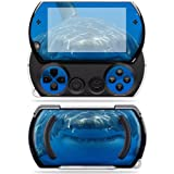 Protective Vinyl Skin Decal Cover for Sony PSP Go System Sticker Skins Shark