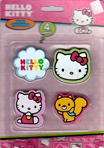 Hello Kitty Eraser Set - 1