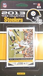 2013 SCORE FOOTBALL CARDS - PITTSBURGH STEELERS COMPLETE TEAM SET by SCORE