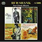 Four Classic Albums (The Bud Shank Quartet Featuring Claude Williamson / The Swing's To TV / Bud Shank Plays Tenor / I'll Take Romance)