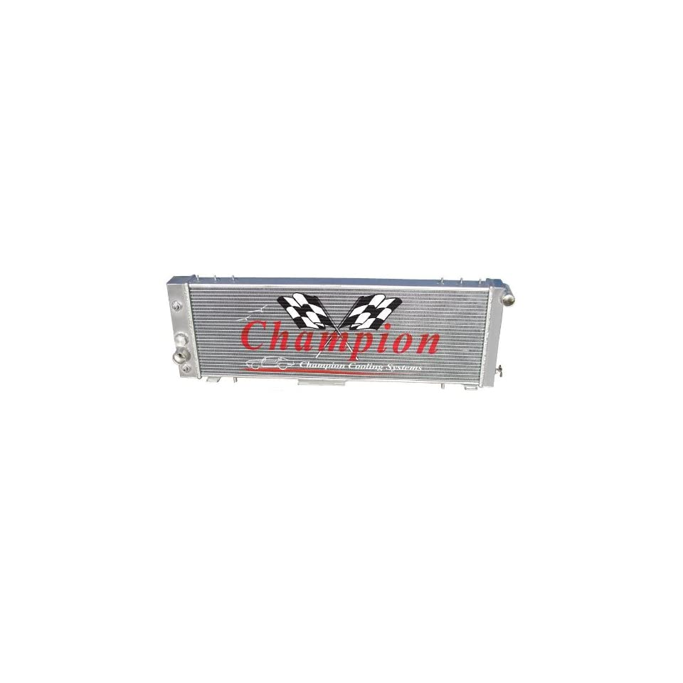 3 Row All Aluminum Replacement Radiator for the Jeep Cherokee, Jeep Wagoneer, Jeep Comanche, and Jeep J Series   Manufactured by Champion Cooling Systems, Part Number 78