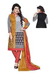 Balaji Fashion Women's cottan print suit D.NO2215_Multi-Coloured
