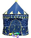 Prince or princess Palace Castle Children kids Play Tent house indoor or outdoor garden toy wendy house playhouse beach sun tent boys girls