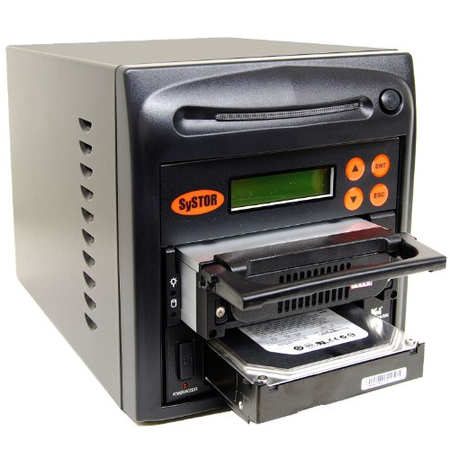 SySTOR 1:1 SATA/IDE Combo Hard Disk Drive / Solid State Drive (HDD/SSD) Clone Duplicator/Sanitizer (SYS401HS) (Hdd Copy Software compare prices)