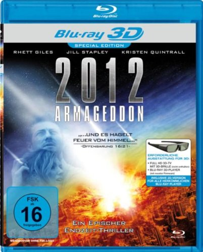 2012 Armageddon (Real 3D-Edition) (Blu-ray)