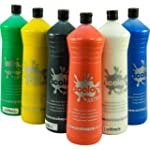 Scola Artmix 6 x 600ml Paint (Coloured)