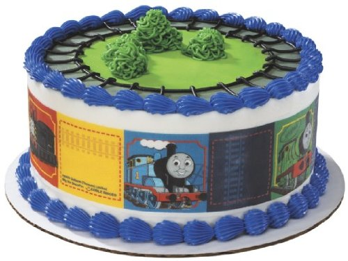Thomas the Train Designer Prints Cake Edible Image