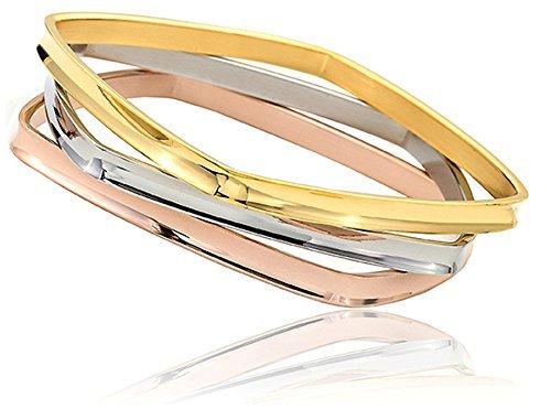tres-piezas-diseno-italiano-plata-oro-rosa-acero-inoxidable-rectangular-pulsera