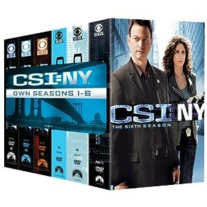 CSI: NY- Seasons 1-6 movie