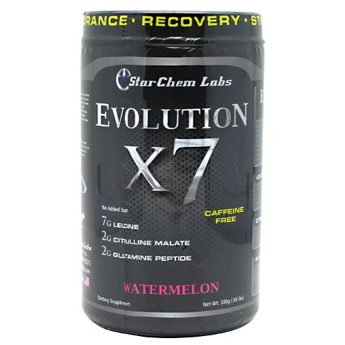 StarChem Labs Evolution X7 Watermelon 25 Servings Intra Post Workout