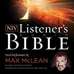 The NIV Listener's Audio Bible, New Testament: Vocal Performance by Max McLean |  Zondervan