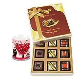 Valentine Chocholik Luxury Chocolates - Enticing Collection Of Pralines Chocolates With Love Mug