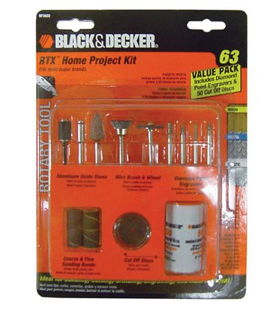 Best Price Black & Decker RT1022 Rotary Tool Accessory Kit, 63-Piece