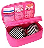 Travel Case Underwear Storage Boxes Bra Organizer Bag Bra Protect Bra Lingerie Bag (NSD-002meihong)