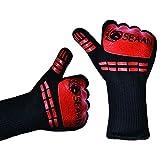SEAAN Handschue hitze handschuhe hitzebeständige handschuhe Grillhandschuhe ofenhandschuhe Kochhandschuhe küchenhandschuhe